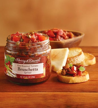 Fire Roasted Bruschetta