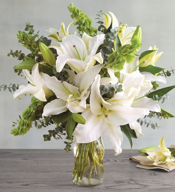 White Lily Bouquet SnipeImage