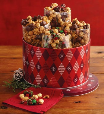 Limited-Edition Holiday Moose Munch® Gourmet Popcorn Tin