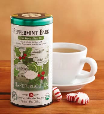 Peppermint Bark Tea
