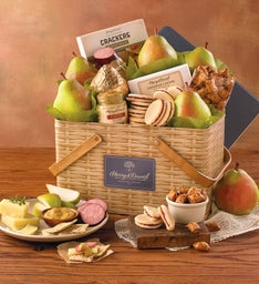 Summer Picnic Basket Gift Tin
