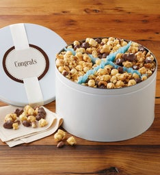 Congratulations Moose Munch® Premium Popcorn Tin