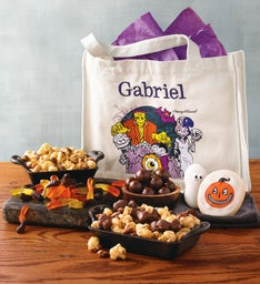 Personalized Trick-or-Treat Tote Gift