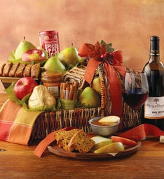 Harvest Cornucopia of Treats with Wine