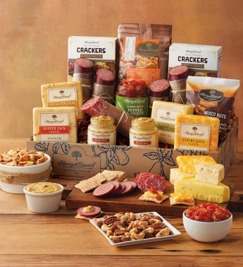 Ultimate Meat and Cheese Gift Box