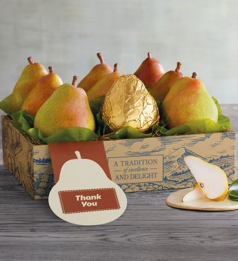 Thank You Royal Riviera174 Pears Gift Box