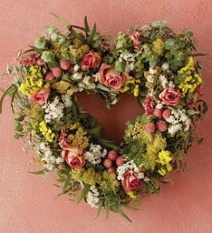 Limited-Edition Heart Wreath