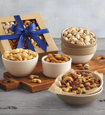 Festive Mixed Nuts Gift Box