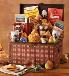Vintage Holiday Morning Trunk
