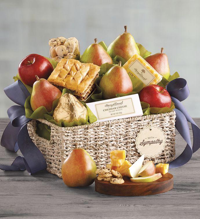 Deluxe Sympathy Gift Basket snipeImage & Condolence Gift Baskets | Sympathy Basket Delivery | Harry u0026 David