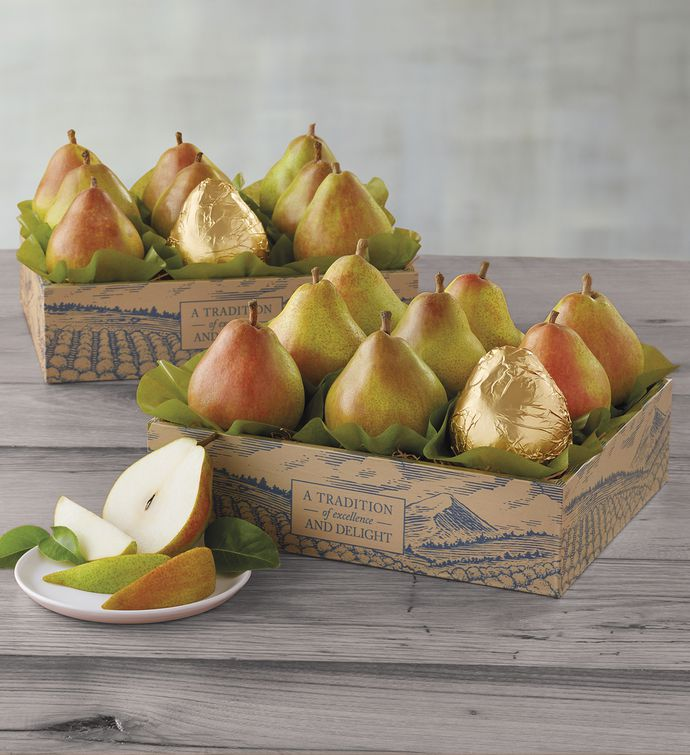Two Boxes of The Favorite® Royal Riviera® Pears