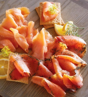 Cold-Smoked Salmon Sampler