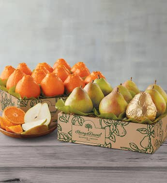 December Royal Riviera174 Pears and January HoneyBells