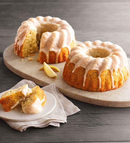 Lemon Poppyseed Bundt Cakes