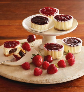 Chocolate Truffle Cheesecake Cupcakes