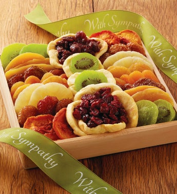 Sympathy Dried Fruit Tray