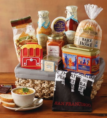 San Francisco-Inspired Gift Basket