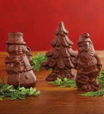 Milk Chocolate Christmas Treats