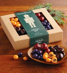 Holiday Chocolate-Covered Fruit