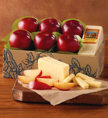 Plums and Beehive Cheese Co. Promontory Cheese