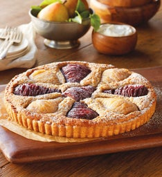 Sweet Lady Jane Royal Riviera® Pear Almond Tart