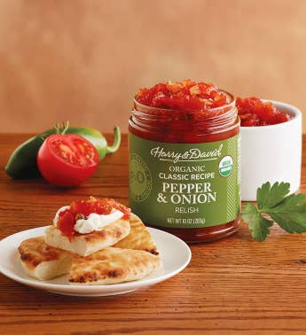 Organic Classic Pepper and Onion Relish