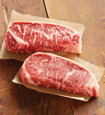Stock Yards® Grass-fed New York Strip Steaks