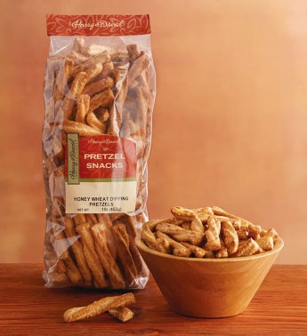 Honey Wheat Dipping Pretzels