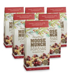 Moose Munch® Premium Popcorn - Peppermint - 6 Pack