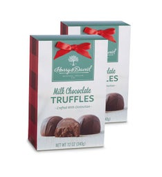 Holiday Milk Chocolate Truffles - 2 Pack