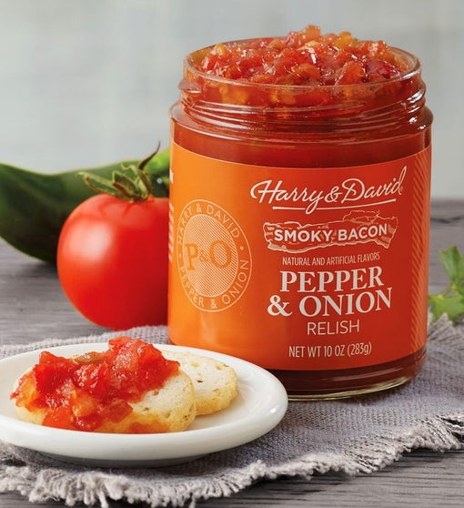Bacon Pepper and Onion Relish
