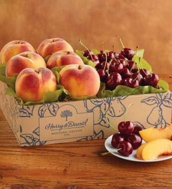 Oregold® Peaches and Cherry-Oh!® Cherries