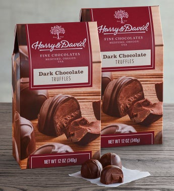 Dark Chocolate Truffles 2-Pack