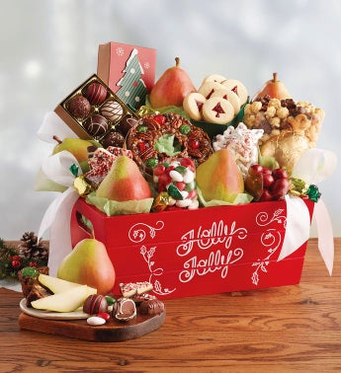 Christmas gift basket classic christmas gift basket negle Gallery