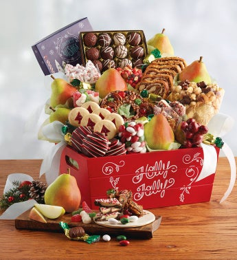 Grand Christmas Gift Basket