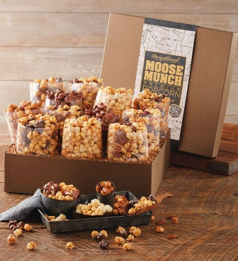 Holiday Ultimate Moose Munch® Premium Popcorn Gift Box