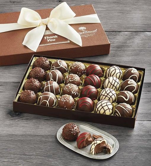 Thank You Truffle Gift Box