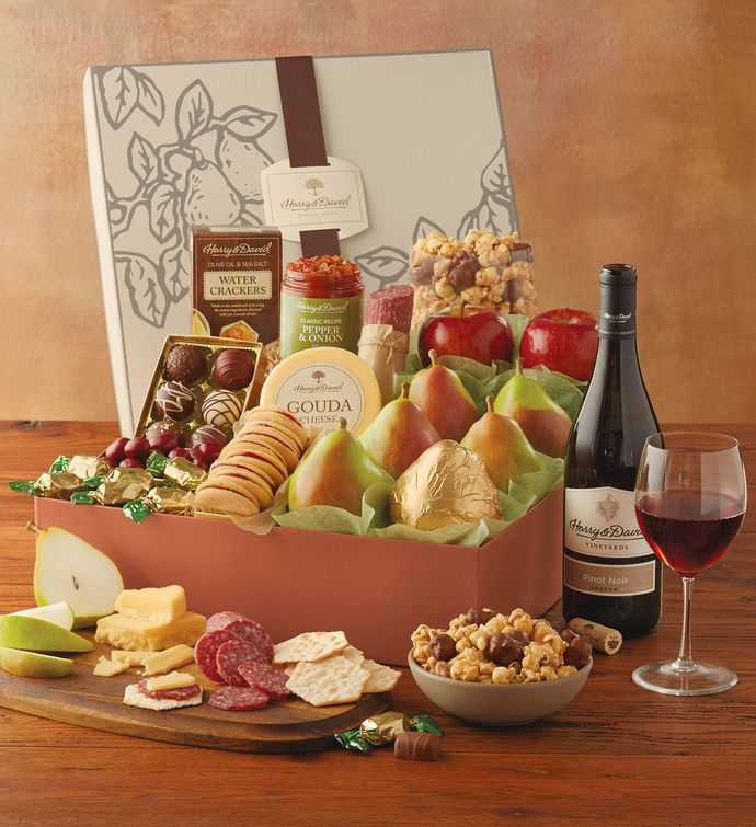 New Year's Founders' Favorites Gift Box with Wine