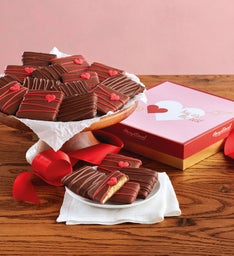 Valentines Chocolate-Covered Grahams