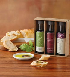 Lucero Olive Oil and Vinegar Trio