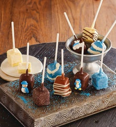 Holiday Cheesecake Pops