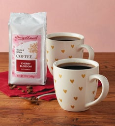 Valentine Mugs and Coffee
