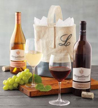 Personalized Wine Tote