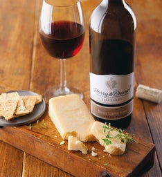 Sartori® Asiago Cheese and Harry & David™ Ross Lane Red Blend