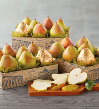 Three Boxes of Royal Verano174 Pears