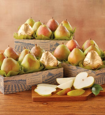 Three Boxes of Royal Verano Pears