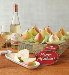 Christmas Royal Riviera® Pears with Wine