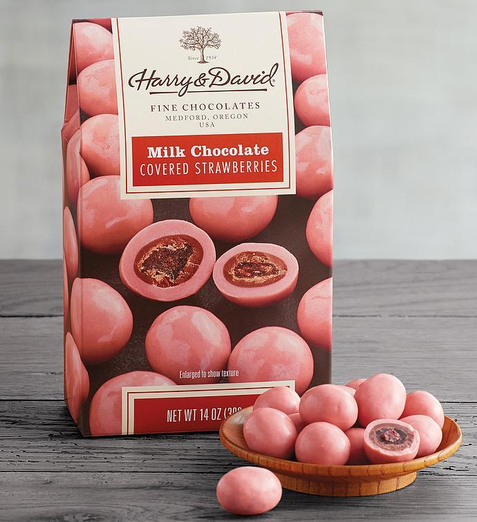 Milk Chocolate Strawberries