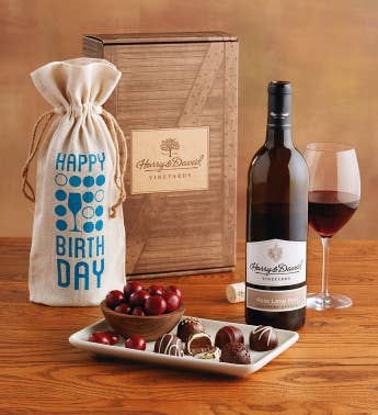Birthday Red Wine Box