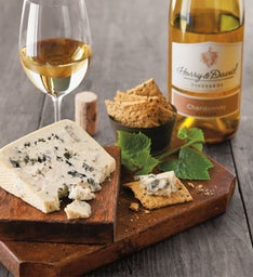 Sartori® Gorgonzola Cheese and Harry & David 2015 Chardonnay